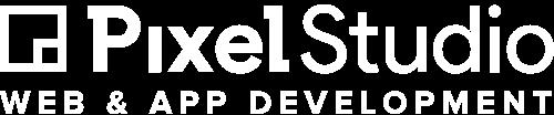 Pixel Studio Logo - White